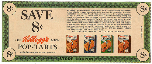 3252703250 870a7f6cc31 45 Classy Examples of Vintage Coupon Designs