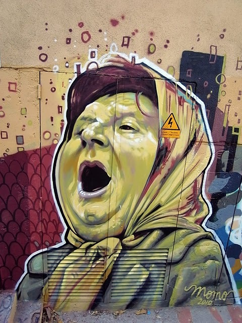 3ba5c21de740b2f96048576313082555 20 Cool Street Art Photos That Will Make You Smile