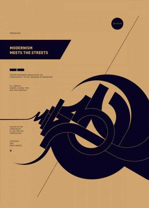 5947112589236621 500x700 40 Tasteful Print Poster Designs