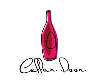 7c21cce9d6ef47f05069c0abc25085101 40 Amazing Wine Based Logo Designs