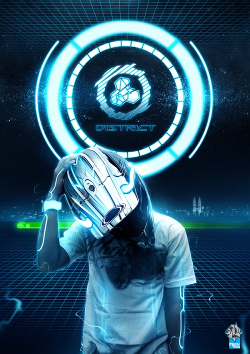 8891712701774861 500x707 20 Outstanding Tron Legacy Fan Artworks