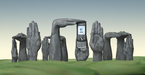 ATT England Stonehenge1 500x261 30 Incredible Hand Paintings by Guido Daniele