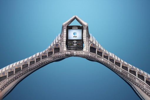 ATT Italy Rialto Bridge 510x3401 30 Incredible Hand Paintings by Guido Daniele