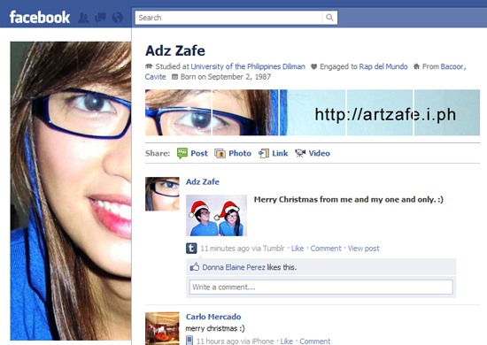 Adz Zafe 25+ Examples of New Creative Facebook Profile Pages