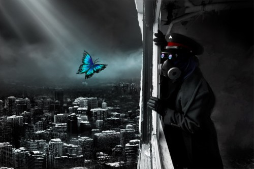 Daydream by alexiuss1 500x333 45 Impressive Apocalyptic Artworks