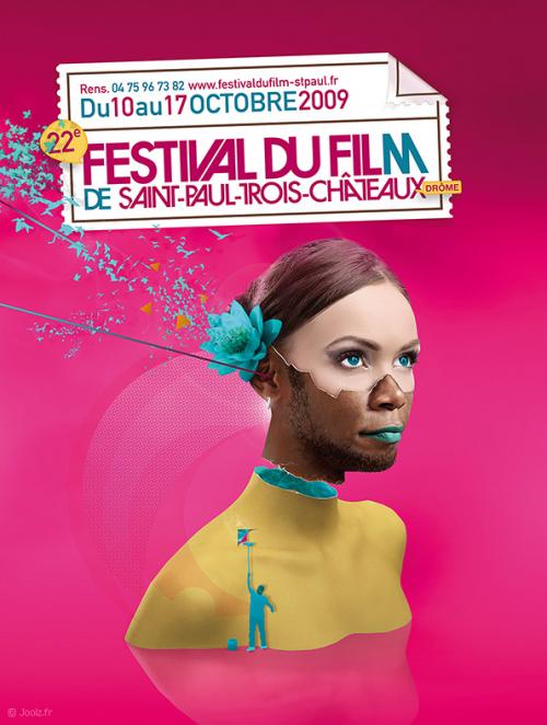 FESTIVAL DU FILM 500x662 40 Tasteful Print Poster Designs