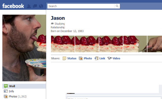 Jason 25+ Examples of New Creative Facebook Profile Pages