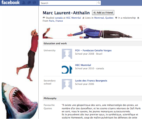 Marc Laurent Atthalin 25+ Examples of New Creative Facebook Profile Pages