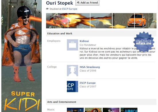 Ouri Stopek 25+ Examples of New Creative Facebook Profile Pages