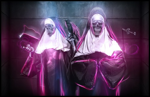 Sin Sisters by BossLogic1 500x324 50 Stunning Examples of Photo Manipulation
