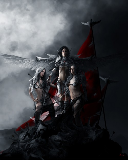 Sisters of blood by aphostol1 500x623 50 Stunning Examples of Photo Manipulation