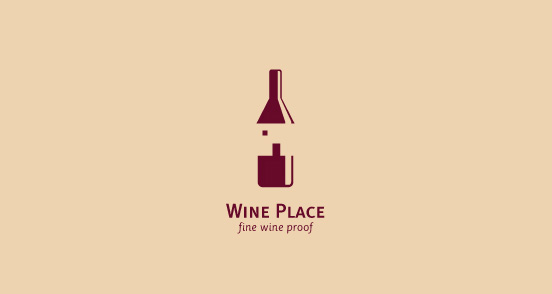 Wine Place l1 40 Amazing Wine Based Logo Designs