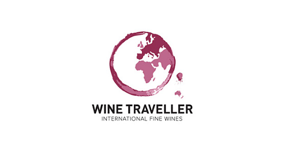Wine Traveller l1 40 Amazing Wine Based Logo Designs