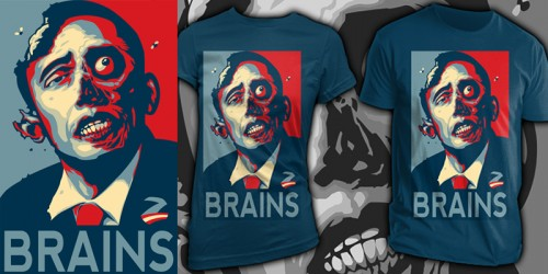 ZombamaEmptees1 500x250 45 Amazingly Creative T Shirt Designs