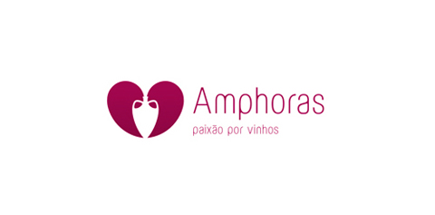 amphoras1 40 Amazing Wine Based Logo Designs