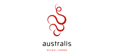 australis1 40 Amazing Wine Based Logo Designs