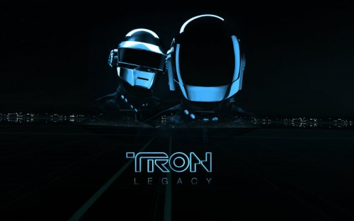 daft punk x tron legacy by jdevl d31oim51 500x312 20 Outstanding Tron Legacy Fan Artworks