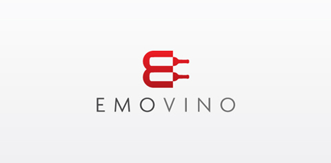 emovino1 40 Amazing Wine Based Logo Designs