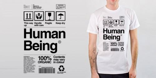 emptees  human being1 500x250 45 Amazingly Creative T Shirt Designs