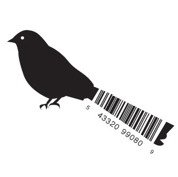 full bird1 e1293733565401 30 Simple Yet Creative Bar Code Designs