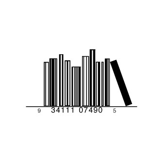 full bookshelf1 e1293733760934 30 Simple Yet Creative Bar Code Designs
