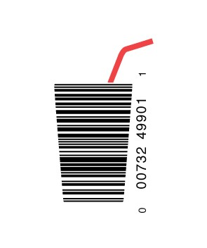 full cup1 e1293733652644 30 Simple Yet Creative Bar Code Designs