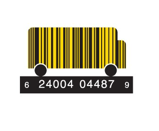full schoolbus1 e1293734120629 30 Simple Yet Creative Bar Code Designs
