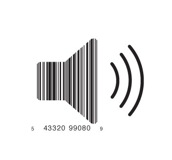 full speaker1 e1293733802737 30 Simple Yet Creative Bar Code Designs