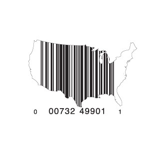 full usa1 e1293733334577 30 Simple Yet Creative Bar Code Designs