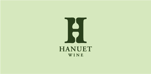 hanuet1 40 Amazing Wine Based Logo Designs