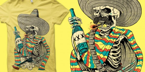 hombre emptees1 500x250 45 Amazingly Creative T Shirt Designs