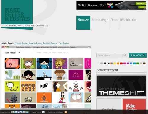 makebetterwebsites 500x386 Top 35 CSS Galleries For Web Design Inspiration