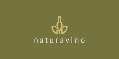 naturavino1 40 Amazing Wine Based Logo Designs