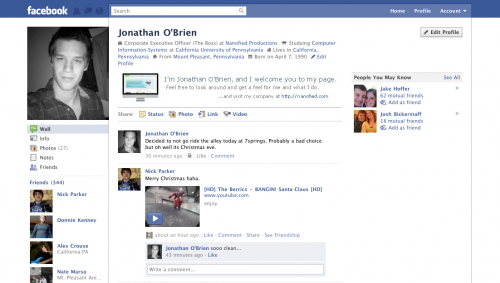 original1 500x283 25+ Examples of New Creative Facebook Profile Pages
