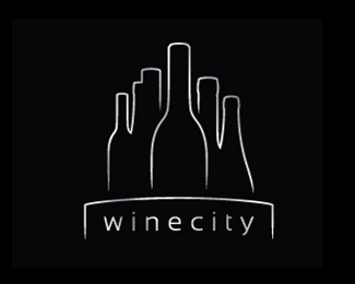 picture126883272074561 40 Amazing Wine Based Logo Designs