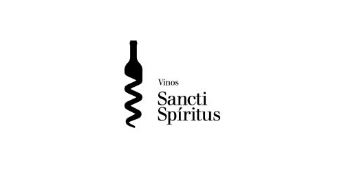 sanctispiritus1 40 Amazing Wine Based Logo Designs