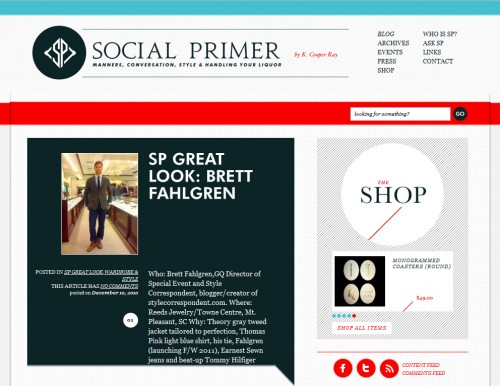 socialprimer 500x386 40 Quality Websites with Circular Logos