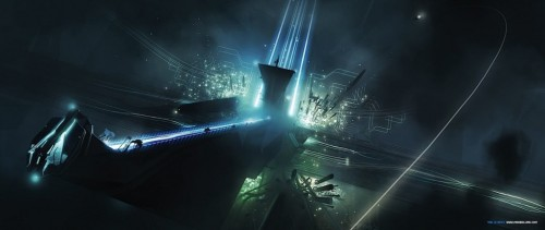 tron legacy concept art 15 1024x4331 500x211 20 Outstanding Tron Legacy Fan Artworks