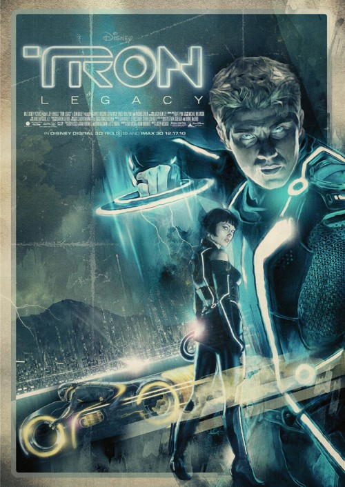 tron legacy by turk1672 d34th4n1 500x706 20 Outstanding Tron Legacy Fan Artworks