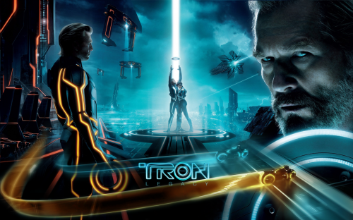 tron legacy wall by rehsup d33g72r1 500x312 20 Outstanding Tron Legacy Fan Artworks