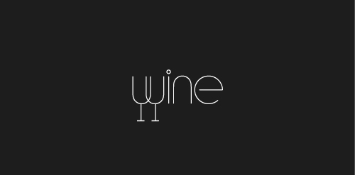 wine1 40 Amazing Wine Based Logo Designs
