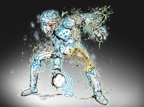 zombie tron by gazbot d31typr1 500x372 20 Outstanding Tron Legacy Fan Artworks