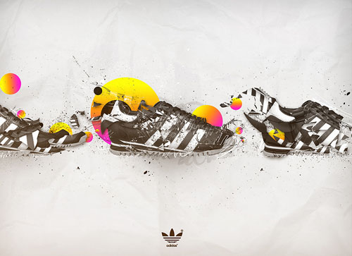 Adidas Just change 31 Spectacular Examples of Adidas Artworks & Commercials