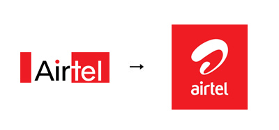 Airtel 60 Recently Redesigned Corporate Identities