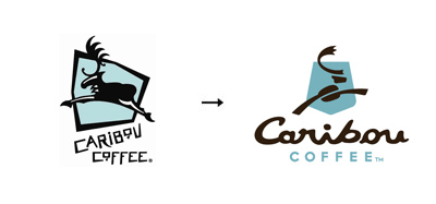 Caribon Coffee 60 Recently Redesigned Corporate Identities