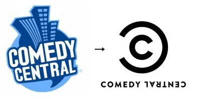 ComedyCentral 60 Recently Redesigned Corporate Identities