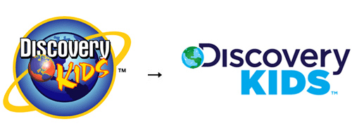 DiscoveryKids 60 Recently Redesigned Corporate Identities
