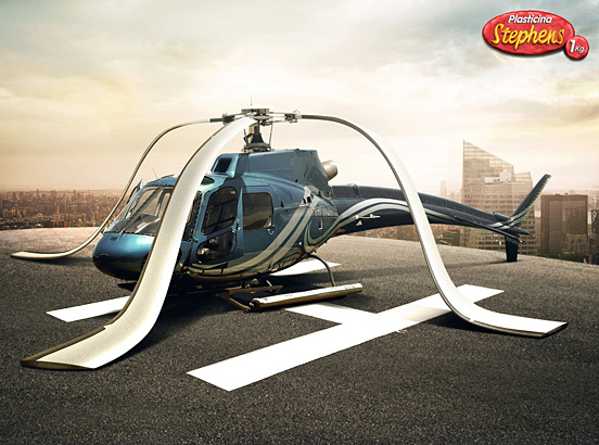 Helicopter l1 40 Visionary Examples of Creative Photography #4