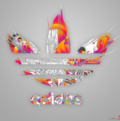 Impossible is Nothing 31 Spectacular Examples of Adidas Artworks & Commercials