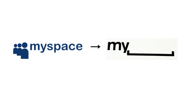 Myspace 60 Recently Redesigned Corporate Identities